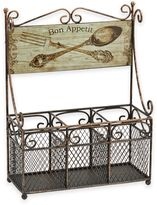 Boston Warehouse Bon Appetit Flatware Caddy