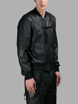 Marcelo Burlon County of Milan Leather Jackets