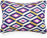 Jonathan Adler Diamonds Bargello Pillow