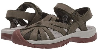 Keen Rose Sandal Leather (Forest Night) Women's Shoes