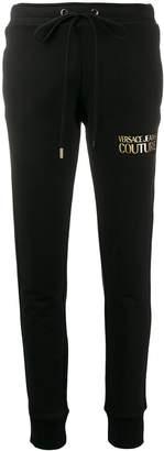 Versace logo-print track trousers