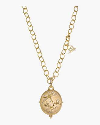 Temple St. Clair Dragonfly Diamond Locket