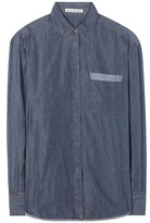 Acne Studios Addle cotton-blend shirt