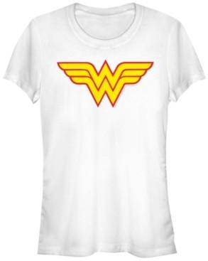 Fifth Sun Dc Wonder Woman Classic Logo Women's Short Sleeve T-Shirt