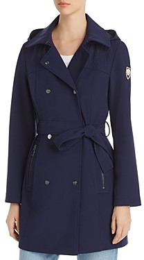 Vince Camuto Double-Breasted Snap Front Trench Coat