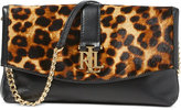Lauren Ralph Lauren Carrington Leopard-Print Barb Clutch