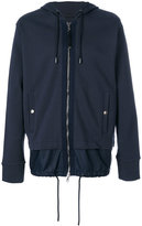 Diesel Black Gold double hem drawstring hoodie - men - Cotton/Nylon - S