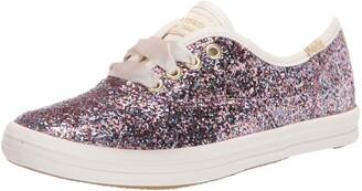 Keds Kids Girls Champion Glitter Sneaker