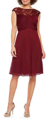 Scarlett Sleeveless Midi Fit & Flare Dress
