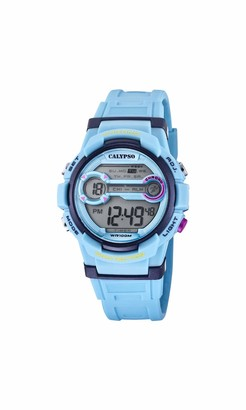 Calypso Boy's Digital Quartz Watch with Plastic Strap K5808/2