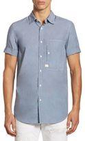 G Star Stalt Denim Cotton Casual Button-Down Shirt