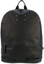 Maison Margiela zip detail backpack - men - Calf Leather - One Size