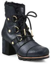 Sorel Addington Lace-Up Leather Boots