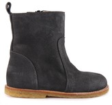 Angulus Suede Boots with Zip