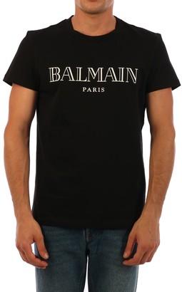 Balmain T-shirt Logo Black