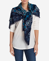 Eddie Bauer Women's Arya Creek Woven Square Scarf