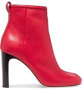 Rag & Bone Ellis Leather Ankle Boots - Red