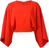 Stella McCartney drape sleeve blouse - women - Polyester/Viscose - 40