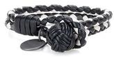 Bottega Veneta Knot Intrecciato Leather Bracelet