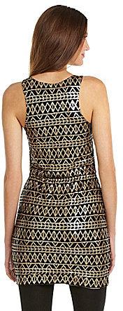 Dolce Vita Taree Tribal Sequin Dress