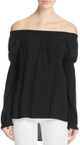 Knot Sisters Atlanta Off-The-Shoulder Top