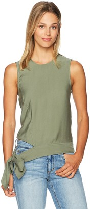EVIDNT Women's Cut-Out Detailed Sleeveless Top