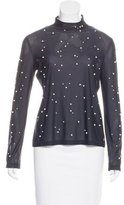 Chanel Embellished Jersey Top