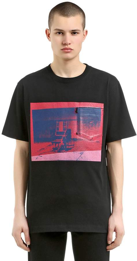 Calvin Klein Electric Chair Compact Jersey T-Shirt