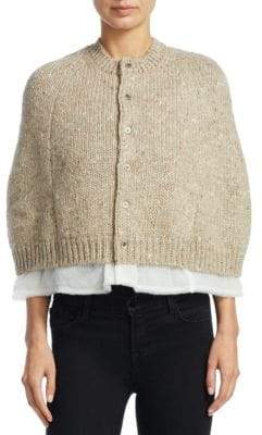Comme des Garcons Mixed Yarn Cardigan