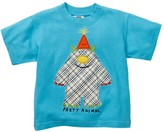 Mulberribush Party Animal Applique Tee (Baby, Toddler, & Little Boys)