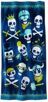 Jumping Beans Skulls Beach Towel