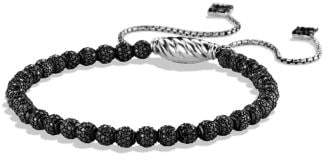 David Yurman Petite Pave Bracelet With Black Diamonds