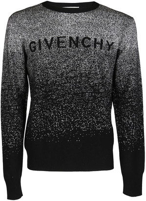 Givenchy Logo Gradient Knitted Sweater