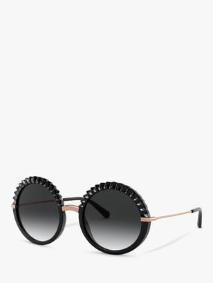Dolce & Gabbana DG6130 Women's Round Sunglasses