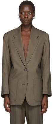 Arch The Brown Two-Pocket Blazer