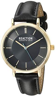 Kenneth Cole Reaction Women's Analog-Quartz Watch with Leather-Synthetic Strap