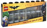 Lego Batman Minifigure Display Case for 16 Minifigures, Stackable Container for Wall or Desk - Black