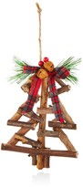 Bloomingdale's Rustic Wood Tree Ornament - 100% Exclusive