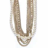 Vale Multi-Chain and Pearl Necklace