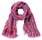 Juicy Couture Geo Print Oblong Scarf