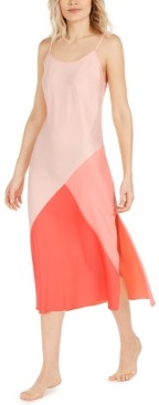 INC International Concepts Inc Colorblocked Nightgown, Created for Macy's