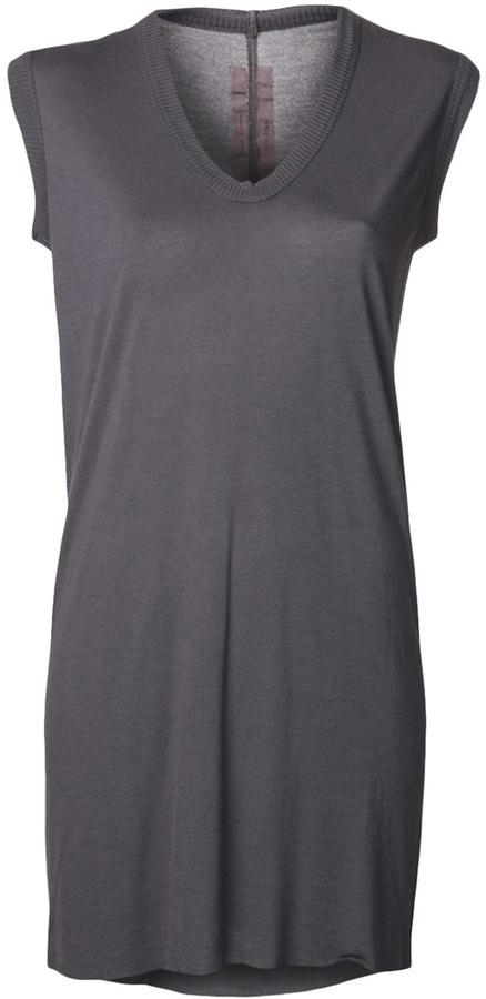 Rick Owens v-neck sleeveless t-shirt