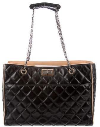 65963e804f16 Chanel Black Calfskin Leather Handbags - ShopStyle