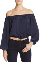 The Fifth Label The Nightingale Off-The-Shoulder Top