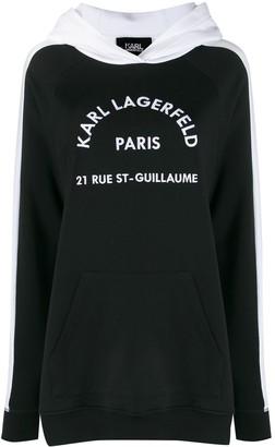 Karl Lagerfeld Paris Rue St Guillaume hoodie