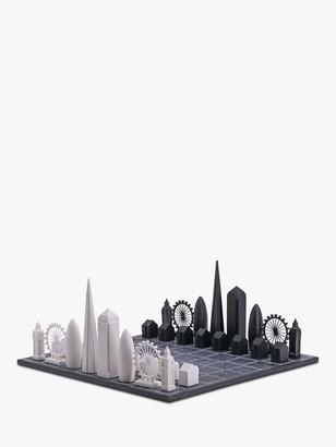 Skyline Chess The London Edition Wood Board Chess Set