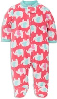 Little Me Girls' Elephant Microfleece Sleeper