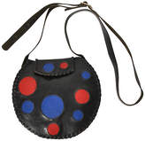 One Kings Lane Vintage Modern Art Circle Leather Purse