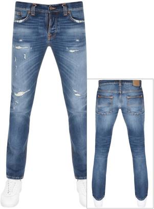Nudie Jeans Grim Tim Jeans Blue