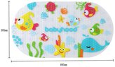 Lopkey New with Seaside Pals Kids PVC Non-slip Vibrant Bath Mat Fancy